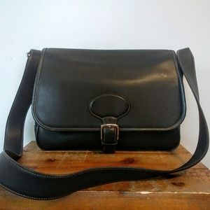 Coach No. K1S-7750 Leather Crossbody Bag